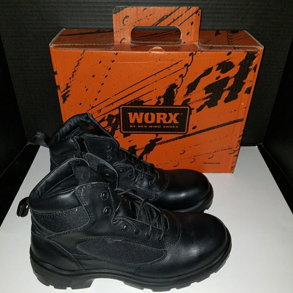 Redwing Worx 5266 Steel Toe Boots